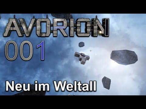 Neu im Weltall 🌀 [001] Avorion deutsch