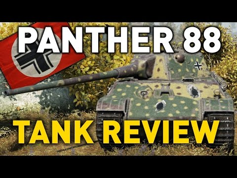 World of Tanks || Panther 88 - Tank Review