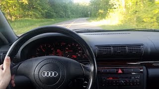 1999 Audi A4 2.8 Quattro 5spd - Acceleration, Driving and Tour
