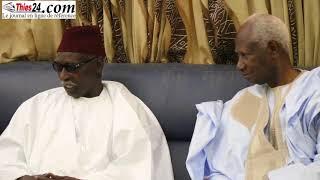 Le Prsident Abdou Diouf chez Serigne Mbaye Sy Mansour 06-01-2018