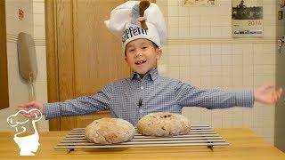 Хлеб с грецкими орехами и финиками (рецепт) - Готовим с Борисом