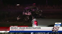Police investigating cause of fatal accident on Highway 151 at Military
