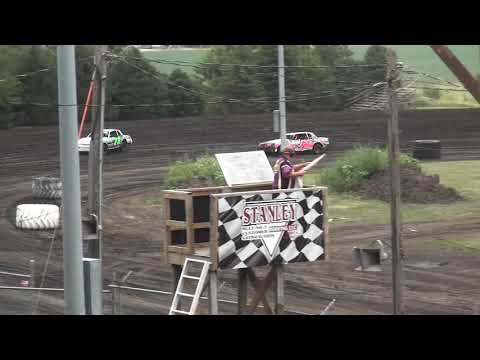 IMCA Hobby Stock Heats Benton County Speedway 7/28/19