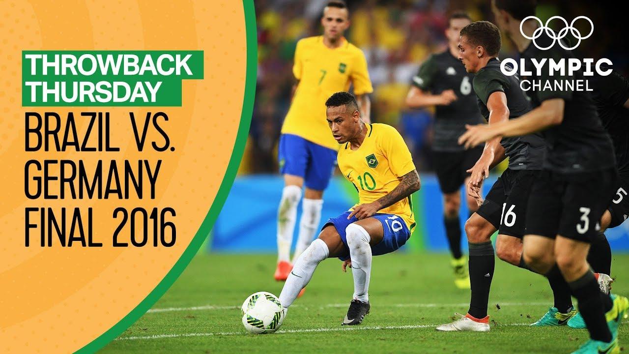 Brazil Vs Germany Full Match Men S Football Final Rio