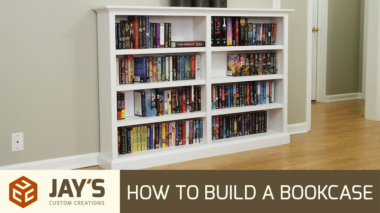 How to build a bookcase - 258 - YouTube
