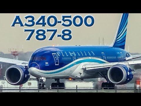 Beautiful AZERBAIJAN Airbus A340 & Boeing 787