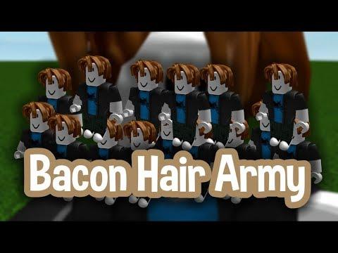 Roblox Script Showcase Episode#1162/Bacon Hair Army