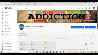 How I Created My Youtube Channel Living In Recovery From Addictions And You Can Too - Day  Eight.