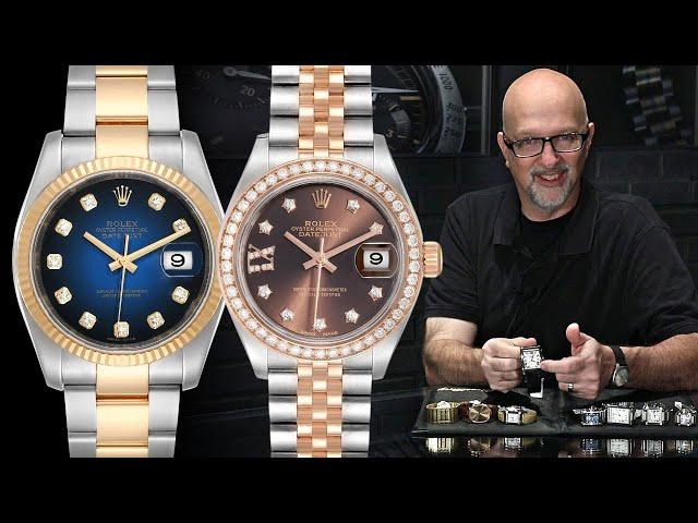 Rolex Datejust Dial Types | SwissWatchExpo [Watch 101]