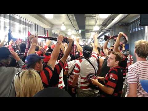 Come On You Wanderers - RBB March into Hunter Stadium