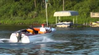 1956 Chris-craft 16' Custom Runabout Wooden Kit Boat.