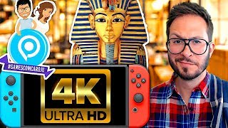 Nintendo Switch 4K ? Image de God of War Egypte, Battlefield V en difficulté, GamescomCaroJu...