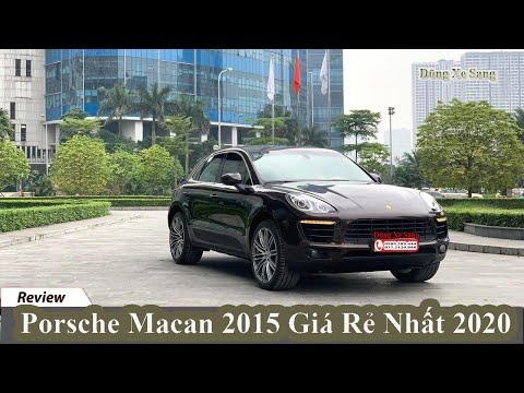 [DŨNG XE SANG] Porsche Macan 2015 Giá Rẻ Nhất 2020