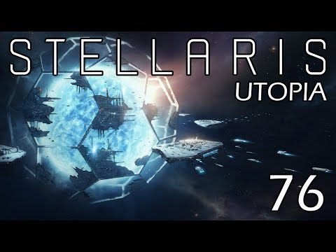 Stellaris: Utopia: The Flesh is Weak Part 76 - Beginning the Dyson Sphere