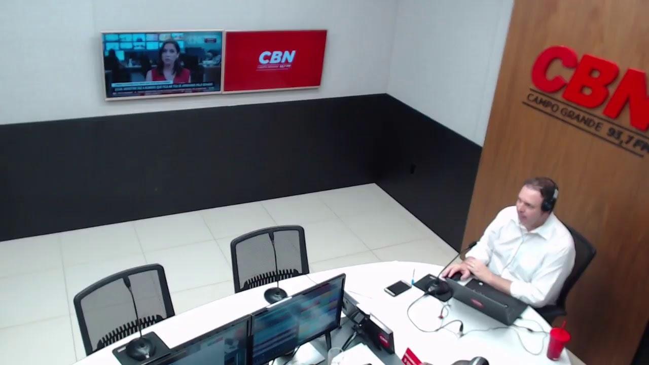 CBN Campo Grande (08/10/2020): com Ginez Cesar