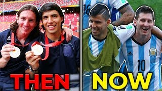 Top 10 Football Bromances! | Messi & Aguero, Zlatan & Maxwell