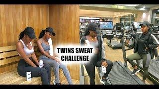 Secret Twins Sweat Challenge