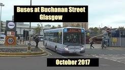 Buses at Buchanan Street Glasgow 2017