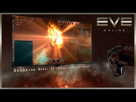 Eve Online - Sansha's Nation Occupied Mining Colony!