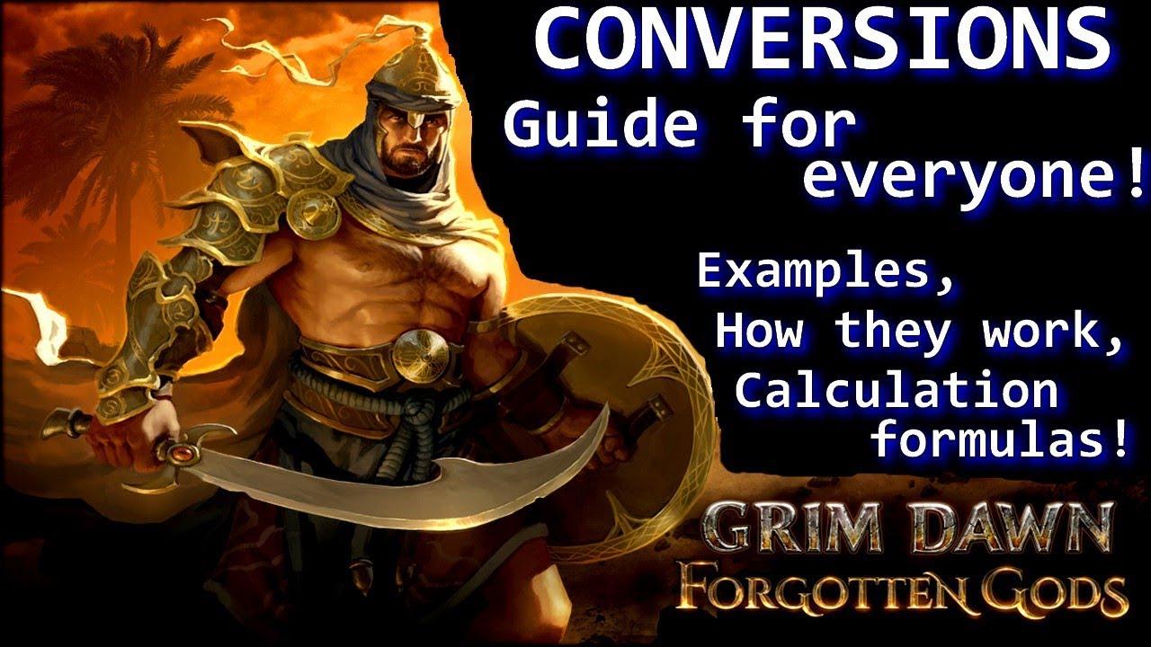 😝 Grim dawn forgotten gods leveling guide | Grim Dawn