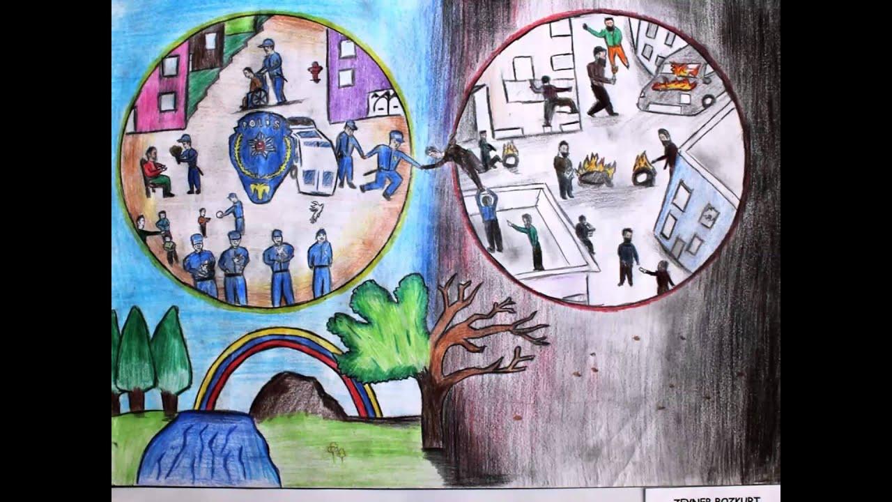 Genclerin Gozuyle Polis 5 Yarismasi Resimleri Youtube