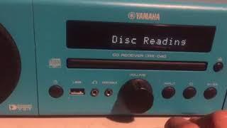 Probando test yamaha crx-040