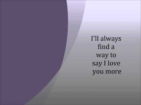 Love you more by Above the Golden State(With Lyrics)