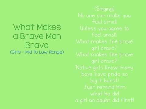 Mantua Drama Club - Audition Video - What Makes a Brave Man Brave - Girls
