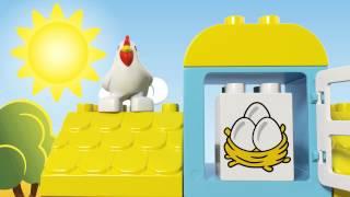 LEGO DUPLO - 10617 Моя перша ферма(Навчіть вашу дитину гратись на фермі! Моя перша ферма LEGO® DUPLO® ідеально підходить для знайомства з основами..., 2015-07-03T10:52:15.000Z)