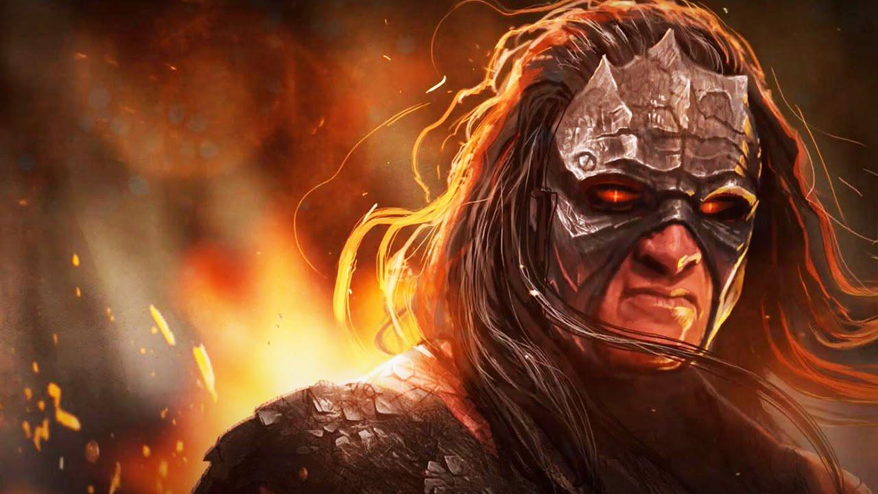 WWE Immortals - Boss Battle #7 - The Demon Kane - YouTube