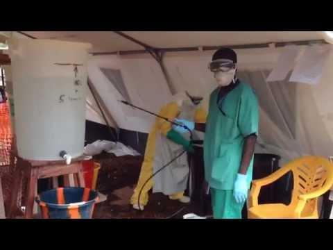 Ebola - inside an Ebola treatment centre