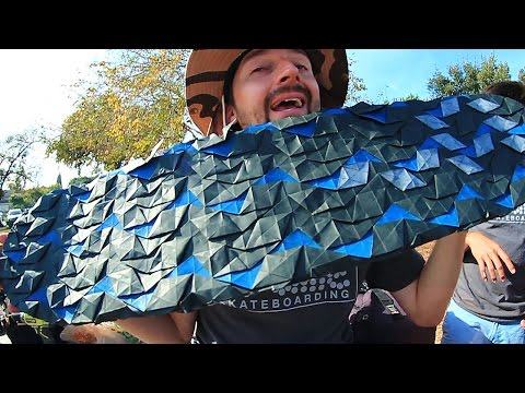 Thumbnail: AWESOME ORIGAMI GRIP TAPE | YOU MAKE IT WE SKATE IT EP 60