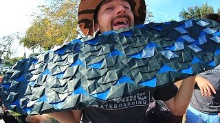AWESOME ORIGAMI GRIP TAPE | YOU MAKE IT WE SKATE IT EP 60