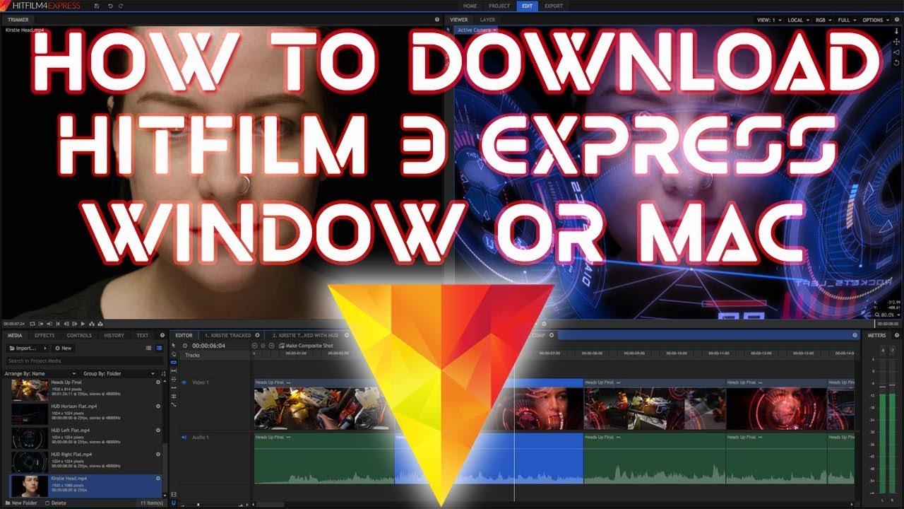 download hitfilm express for windows 7