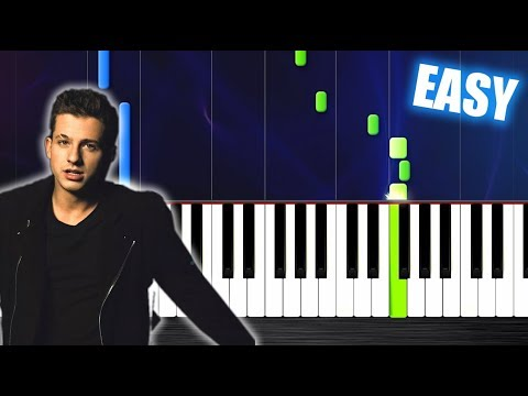 Charlie Puth - Attention - EASY Piano Tutorial by PlutaX