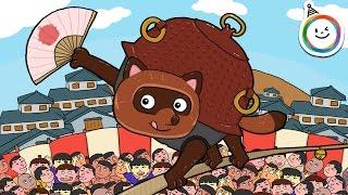 ぶんぶく茶釜(ぶんぶくちゃがま)童話 動く絵本/日本の昔話 朗読
