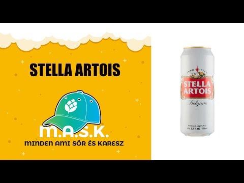 Stella Artois sör teszt - Ez tényleg belga sör???