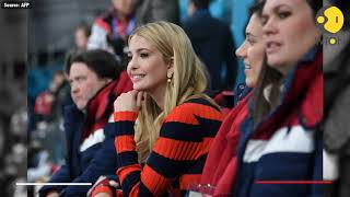 Ivanka Trump arrives at curling centre to cheer the team USA in final