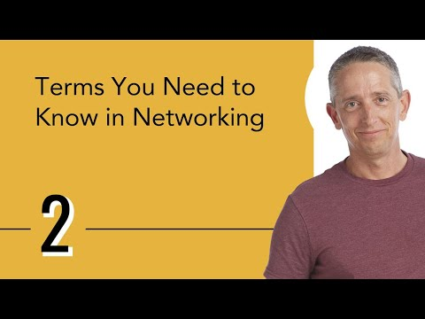 Terms You Need to Know in Networking