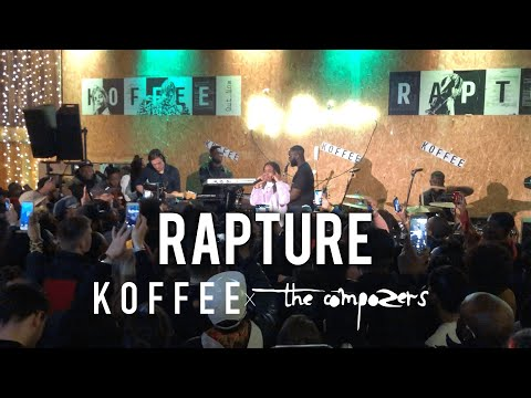 Free Download Koffee Featuring The Compozers - Rapture Live Mp3 dan Mp4