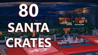 OPENING 80 SANTA'S MEGA GIFTS (YOU WON'T BELIEVE WHAT HAPPENED)