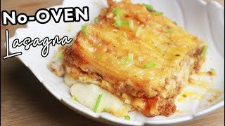 NO OVEN Bake Lasagna 🍕