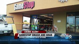 Car Drives Into Gamestop, Tpd Searching For Suspects