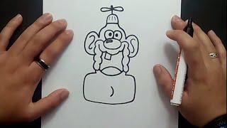 Como dibujar a Tito Yayo paso a paso - Tito Yayo | How to draw Uncle Grandpa - Uncle Grandpa