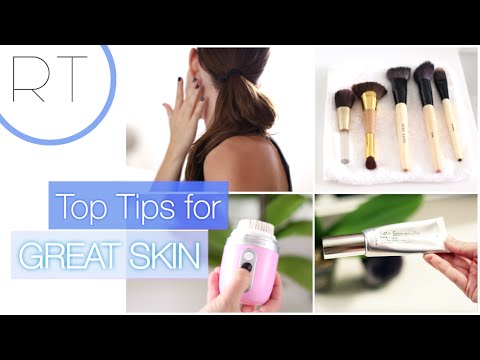 Top Tips 4 Great Skin (Basic Skincare Tips + My Current Routine)