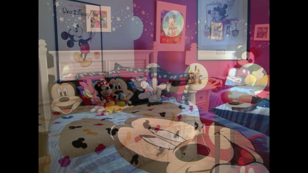 Mickey Mouse Bedroom Decor Mickey Mouse Bedroom Decor Youtube