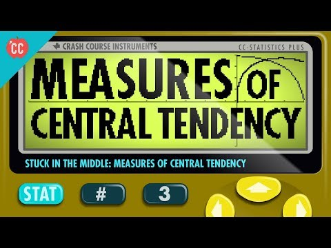 Measures of Central Tendency: Crash Course Statistics #3