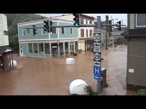 Flood Disaster  in Margaretville, NY