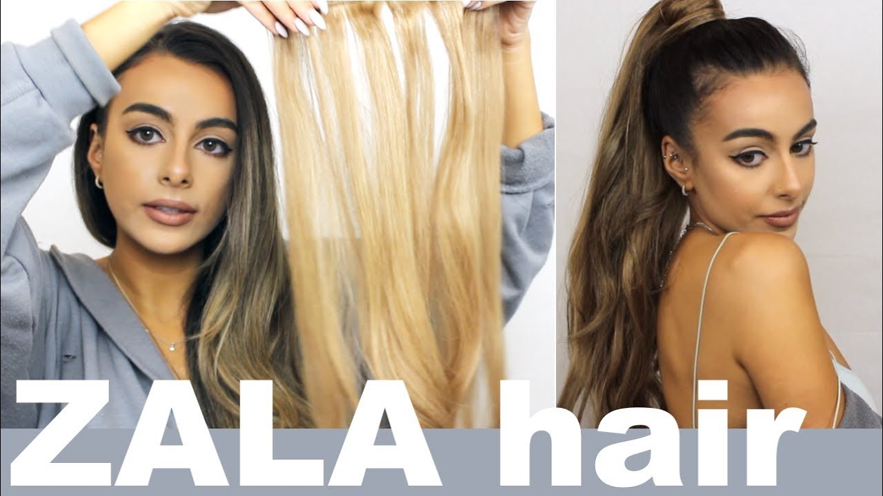 Zala HAIR EXTENSIONS AND PONYTAIL review