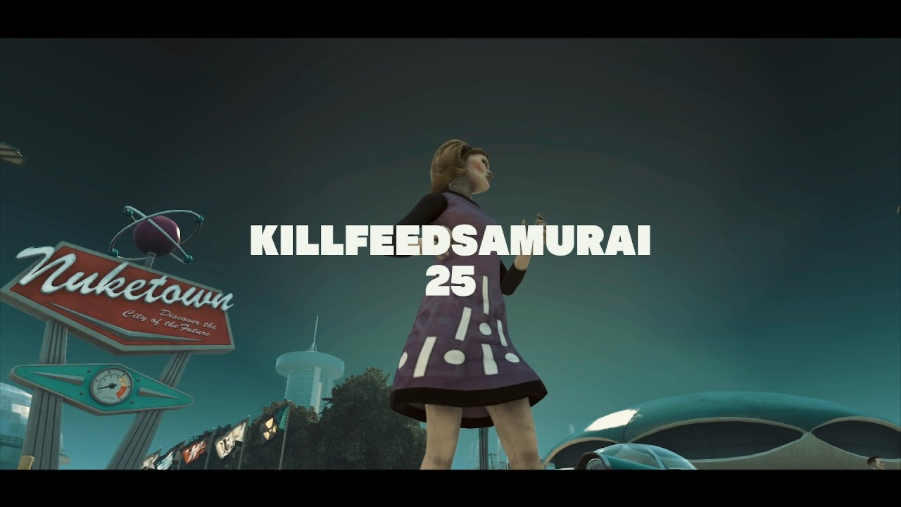 "SamuraiZyAG Multi CoD Teamtage ""Killfeed Samurai""#25"
